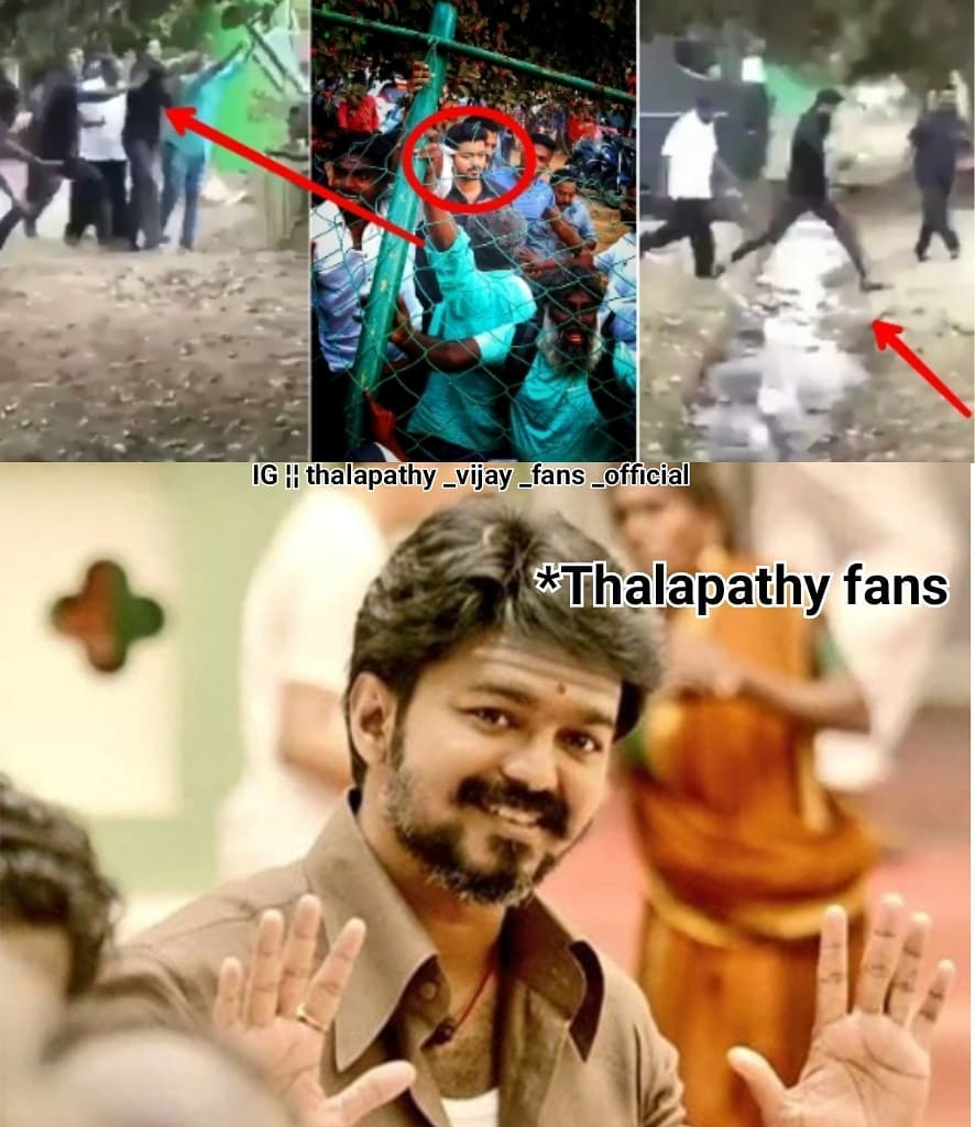 Actor Thalapathy Vijay Saved His Fans In Thalapathy 63 Shooting Spot