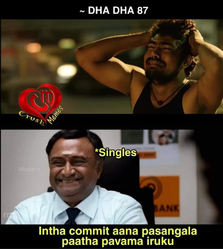 5+ Dha Dha 87 Movie Memes - Tamil Memes