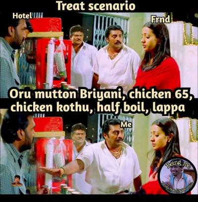 Treat Sothanaigal be like meme - Tamil Memes
