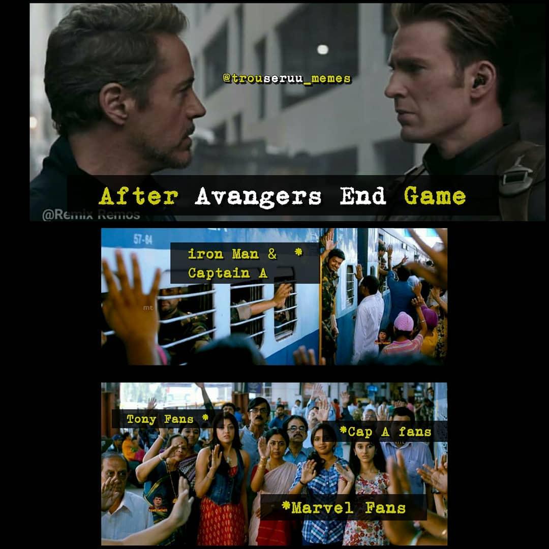 6 Best Avengers Endgame Movie Special Look Video Memes Tamil Memes