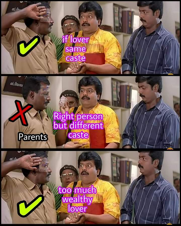 Parents To Accept Your Relationship Be Like Meme Tamil Memes