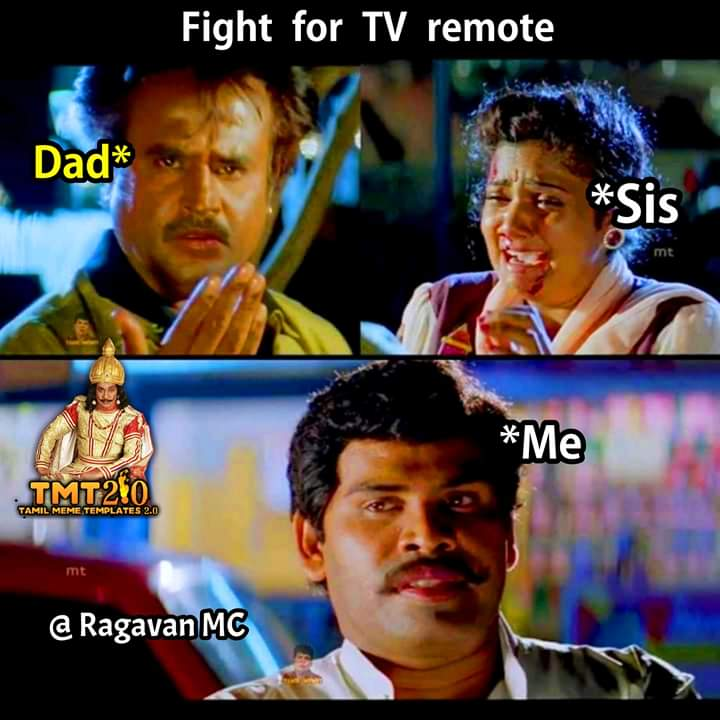 Brother And Sister Fight For Tv Remote Dad Reaction Be Like Meme