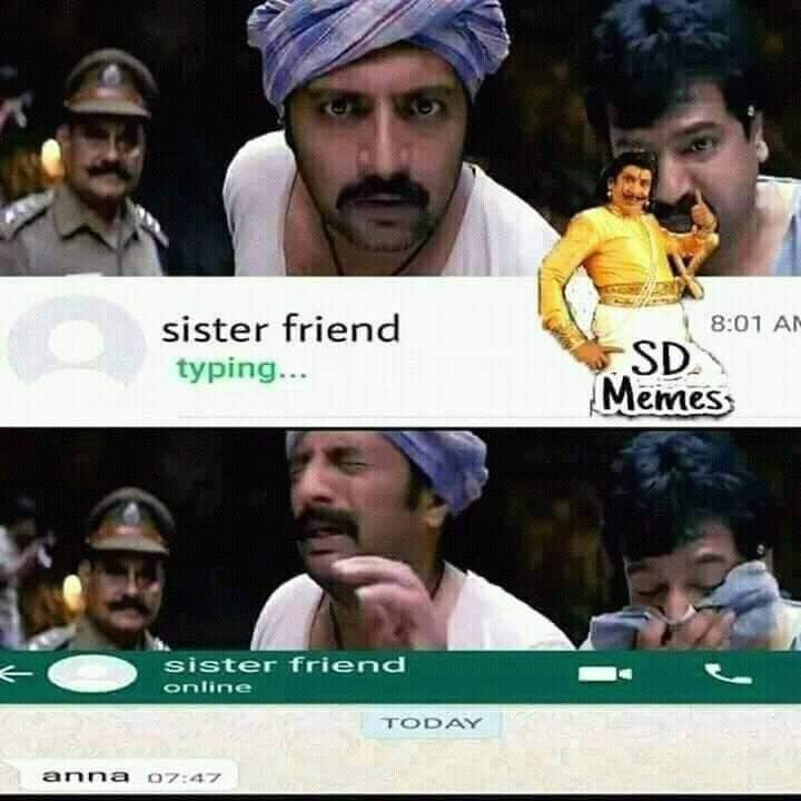 Sister Friend Sothanaigal Be Like Meme Tamil Memes