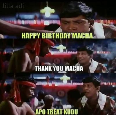 Birthday boy and girls Sothanaigal meme - Tamil Memes