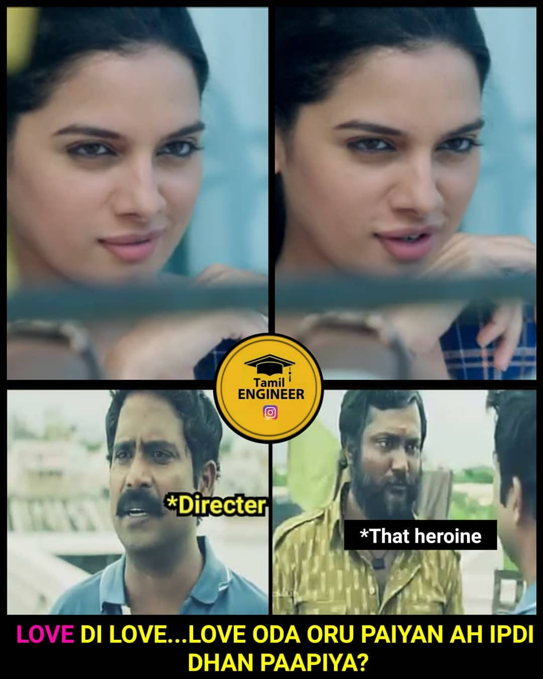 Actress Tanya Hope troll meme - Tamil Memes