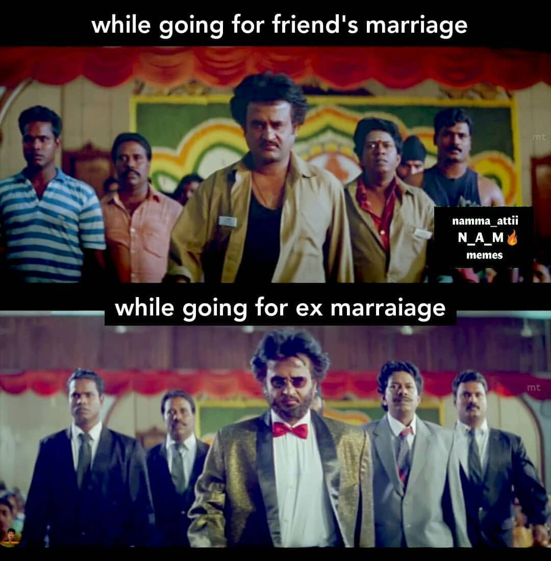 While Going For Friends Vs Ex Girlfriend Marriage Be Like Meme