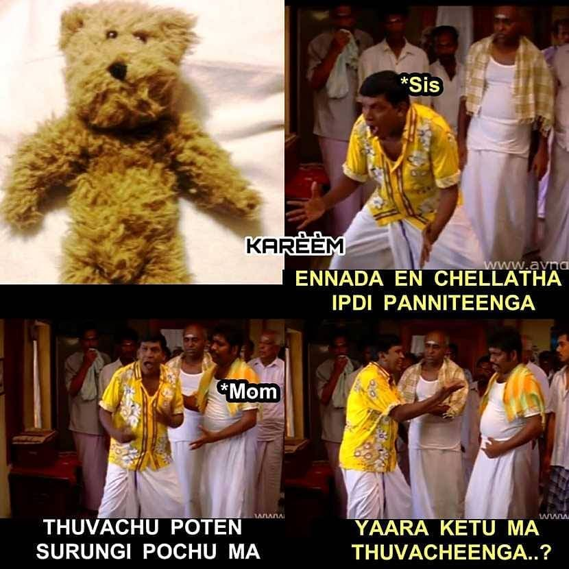 3 Funny Girls Liking Teddy Bear Scenario Be Like Memes Tamil Memes