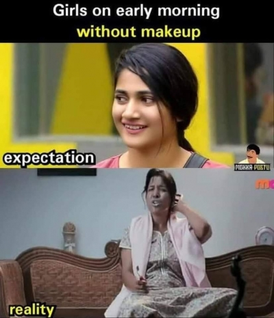 Girl Makeup Meme Tamil | Makeupamat.com