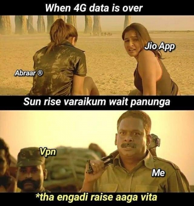 List of Best jio-users - Tamil Memes