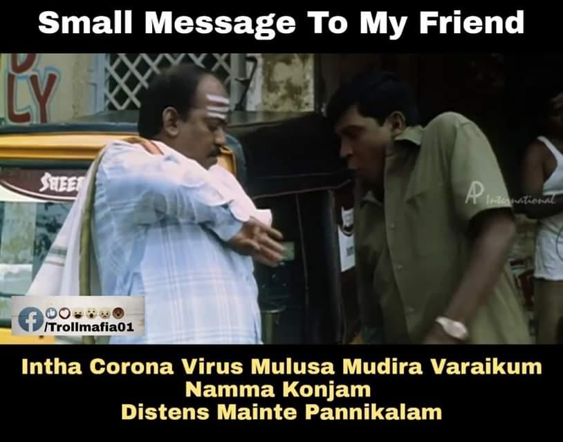 After Coronavirus Fear People Reaction Be Like Meme Tamil Memes
